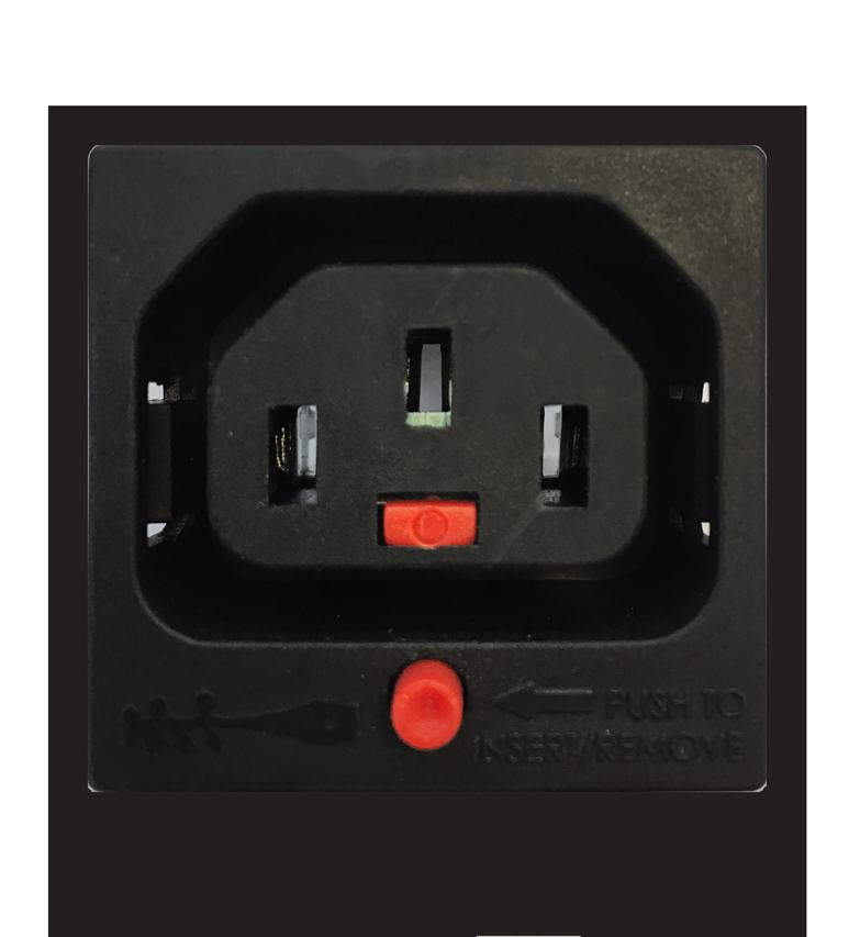 IEC320 C13 IEC-lock