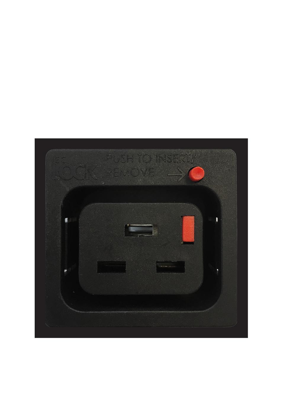 IEC320 C19 IEC-lock