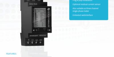 Nieuwe release: Datasheet DPM3 energiemeter