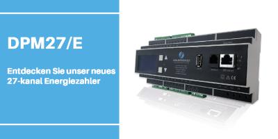 Schleifenbauer introduziert neues DPM27/E Energiezähler
