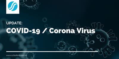 Update: COVID-19 / Coronavirus