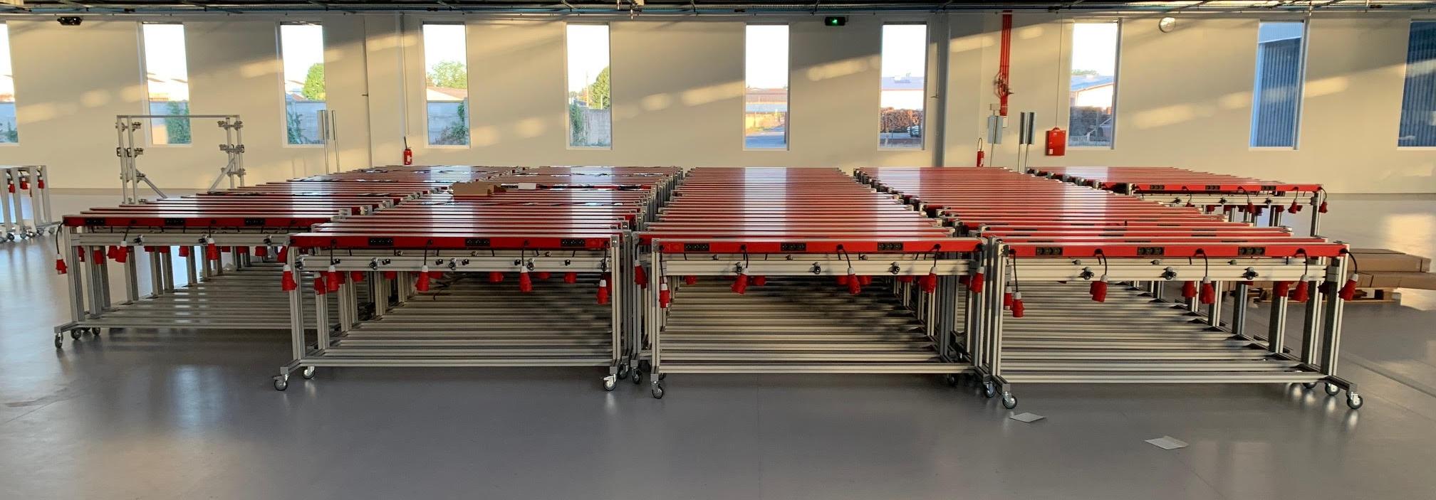 Distribution d'énergie novatrice dans la nouvelle usine de maroquinerie Arco en France