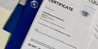Certification ISO 9001: 2015 de Schleifenbauer prolongée de 3 ans
